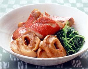 きんめ鯛の甘辛煮