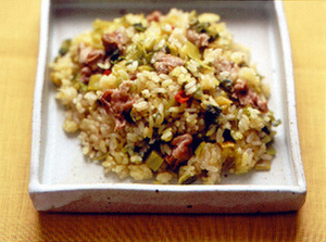 豚高菜ご飯