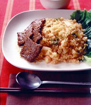 キムチ焼き肉ご飯