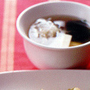 豆腐とわかめのスープ