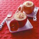 焼きりんごのクリームチーズソース