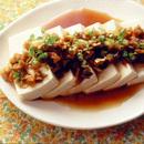 豆腐の中華ドレッシングがけ