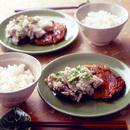 豚肉の照り焼き きのこおろしソース