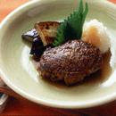 和風おろしソースのハンバーグステーキ