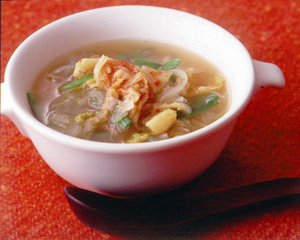 玉ねぎのキムチスープ