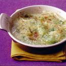 ねぎの和風グラタンスープ