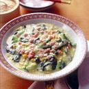 青梗菜のコーンクリーム煮