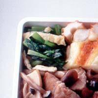 小松菜と油揚げの炒めもの