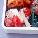 エリンギとプチトマトのサラダ