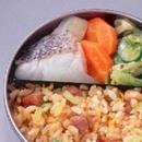 白身魚と野菜の炒め煮