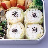 白菜漬け巻きご飯