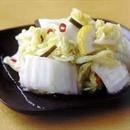 白菜の和風ゆず漬け