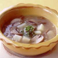 ポテトとマッシュルームのスープ