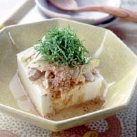 棒棒鶏豆腐