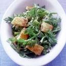 春菊と油揚げのサラダ