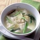 豆腐とねぎのスープ