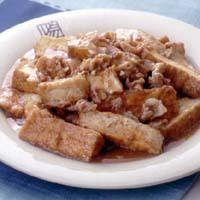 厚揚げの家常豆腐
