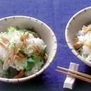 帆立てと三つ葉の混ぜご飯