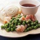 えびとグリーンピースの中華炒め