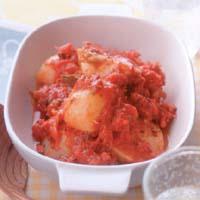 かぶとコンビーフのトマト煮