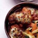 鶏から揚げのチーズ焼き