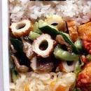 きゅうりとちくわの中国風サラダ