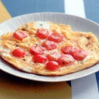 プチトマトの卵焼き