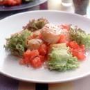 帆立てのソテー トマトソース
