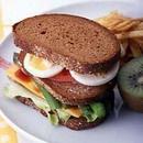 ハムとアスパラのサンドイッチ