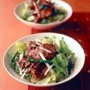韓国風牛タンサラダ