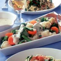 温野菜のイタリア風サラダ