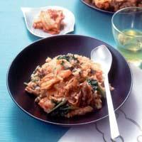焼き肉とナムルの石焼きビビンバ