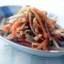 ごぼうとにんじんのごま風味サラダ