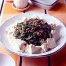 ひき肉あんかけ豆腐