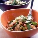 いろいろな豆とパスタのサラダ