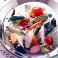 夏野菜の水漬け