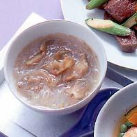 ザーサイと春雨のスープ