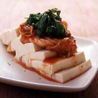 にらキムチ豆腐