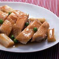 鶏肉のレンジ照り焼き