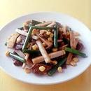 牛肉とごぼうの中華炒め