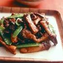 エリンギと豚肉のピリ辛みそ炒め