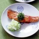 鮭の梅風味照り焼き