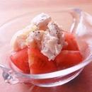 トマトと帆立てのマヨサラダ