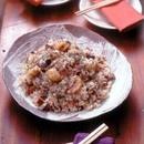 焼き豚と栗の炊き込みご飯