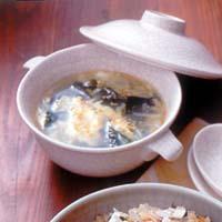 卵入りわかめスープ