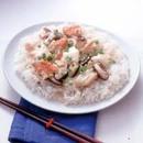 かにと豆腐のあんかけご飯