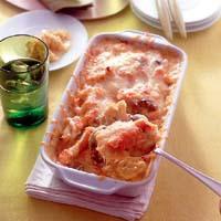鮭のカレーチーズグラタン