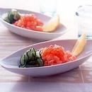 鮭のタルタル レモン風味