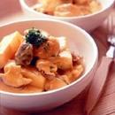 鶏肉と長いものカレークリーム煮