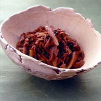 牛肉とごぼうの実山椒煮